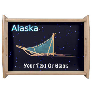Plateau Traîneau de chien - Alaska