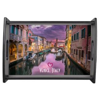 Plateau Venise, canal pittoresque de l'Italie et
