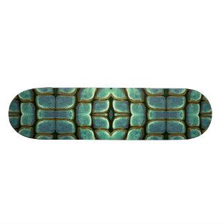 Plateaux De Skate Planche à roulettes verte d'envie