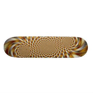 Plateaux De Skateboards Customisés Fractale 1 de remous - planche à roulettes de