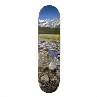 Plateaux De Skateboards Customisés Le Canada, Alberta, montagnes rocheuses,