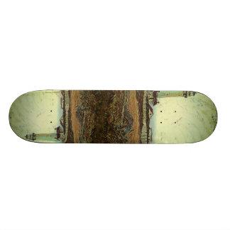 Plateaux De Skateboards Customisés phare nautique de plage de bord de la mer de
