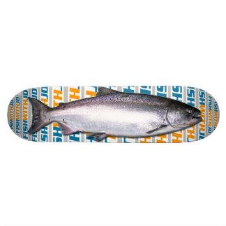 Plateaux De Skateboards Customisés Planche à roulettes de saumon quinte