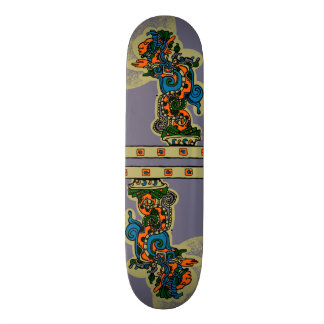 Plateaux De Skateboards Quetzalcoatl. Aztec Tribal