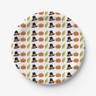 Plats de partie de chute assiettes en papier
