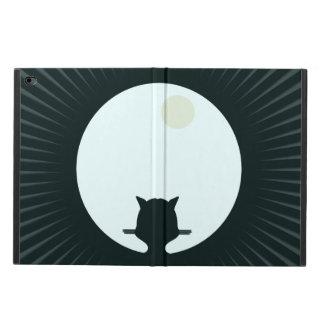 Pleine lune de chat noir coque powis iPad air 2