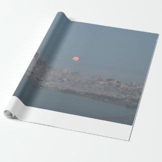 Pleine lune de San Francisco Papier Cadeau