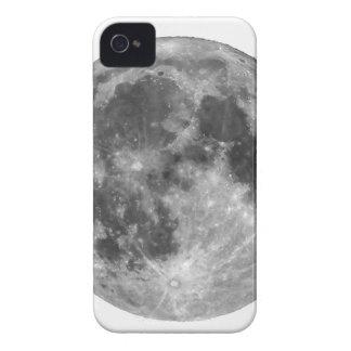 Pleine lune vue avec le télescope coque iPhone 4 Case-Mate