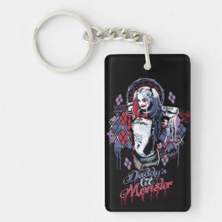 Ploeg   Harley Quinn Geïnkte Graffiti van de Sleutelhanger