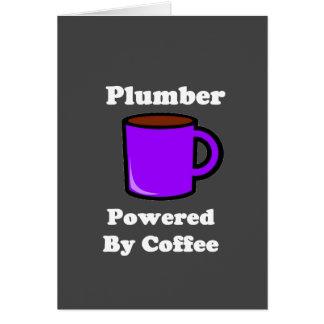 """""""Plombier"""" actionné par le café Carte"""