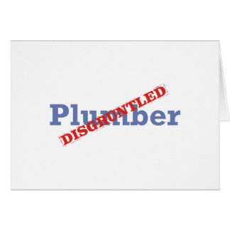 Plombier/contrarié Carte