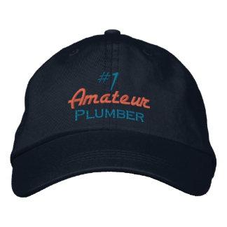 Plombier de l'amateur #1 casquette brodée