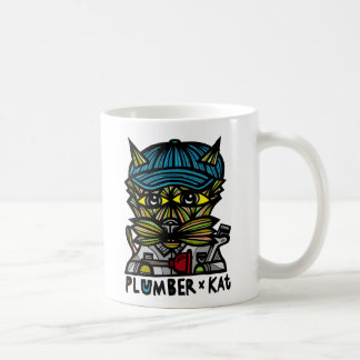 """""""Plombier KAT"""" tasse de classique de 11 onces"""