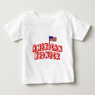 Plouc américain t-shirt pour bébé