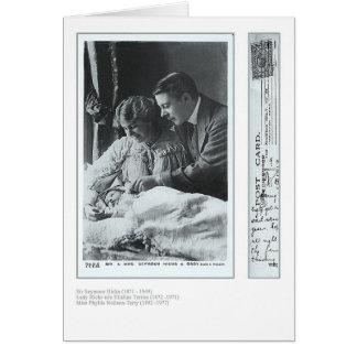Ploucs de Seymour et carte de voeux d'Ellaline