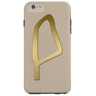 Plume de symbole d'Egyptien de Maat Coque Tough iPhone 6 Plus