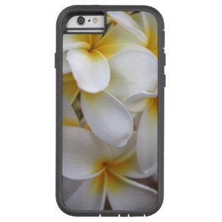 Plumerias jaunes d'Hawaï Coque iPhone 6 Tough Xtreme