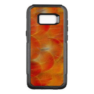 Plumes oranges d'ara de Camelot Coque Samsung Galaxy S8+ Par OtterBox Commuter
