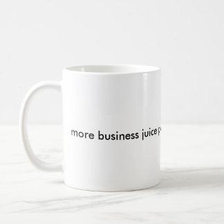Plus de jus d'affaires svp mug