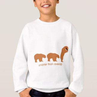 Plus futé que la moyenne sweatshirt