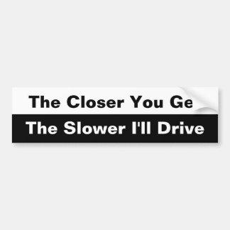 Plus vous obtenez l'adhésif pour pare-chocs étroit autocollant de voiture