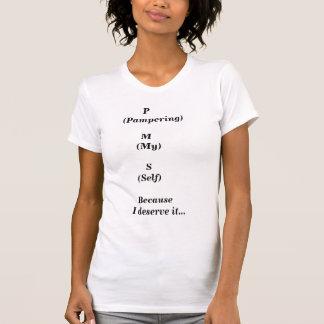 PMS-Choyer mon T-shirt adapté par individu