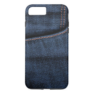 Poche de blues-jean coque iPhone 7 plus