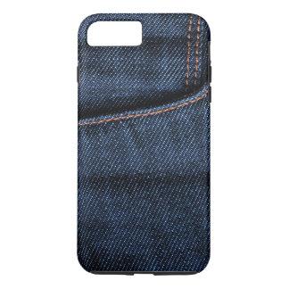 Poche de blues-jean coque iPhone 8 plus/7 plus