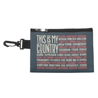 Pochette Avec Clip C'est mon pays