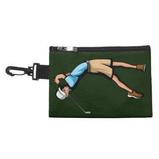 Pochette Avec Clip Garçon de golfeur