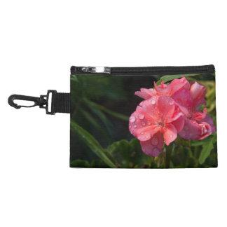 Pochette Avec Clip pochette, fleur rose