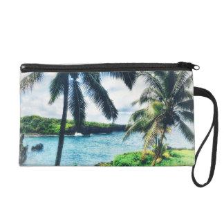Pochette Avec Dragonne Bracelet hawaïen