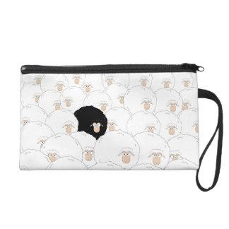 Pochette Avec Dragonne Moutons noirs