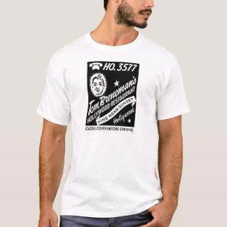 Pochette d'allumettes vintage de restaurant de t-shirt