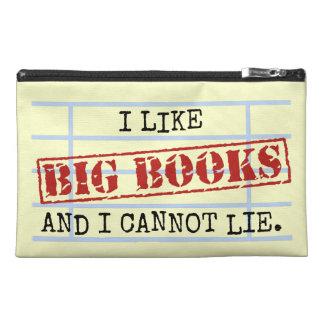 Pochette De Voyage J'aime de grands livres et je ne peux pas me