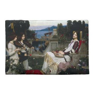 Pochette De Voyage Saint Cecilia dans le jardin