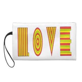 Pochette love - Wristlet love