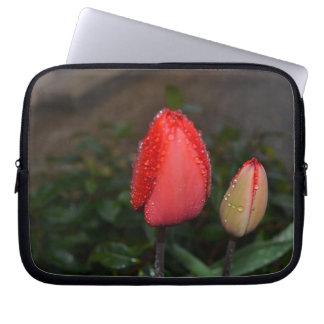 Pochette ordinateur Tulipes Housse Pour Ordinateur Portable