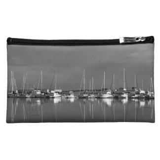 pochette photo noir et blanc, bateaux