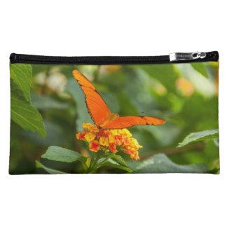 Pochette Simili Daim pochette, photo d'un papillon