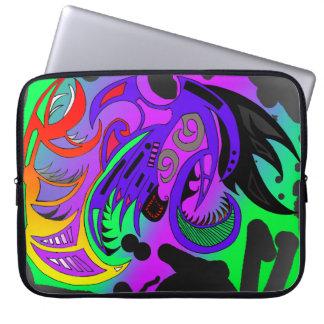 Pochette style tribal ordinateur portable 15pouces protection pour ordinateur portable