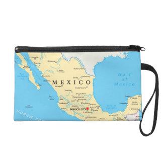 Pochettes Avec Dragonne Carte politique du Mexique