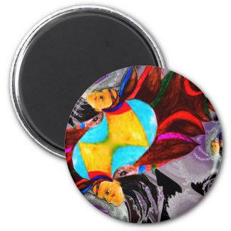 Poducts multi d'esprit en chef de couleur magnets pour réfrigérateur