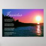Poème inspiré de ~ d'Invictus Posters