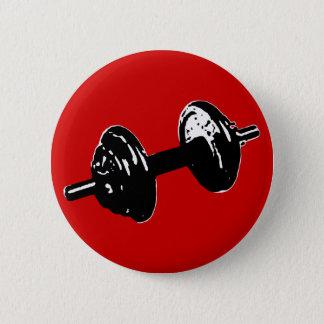 poids de forme physique badge rond 5 cm