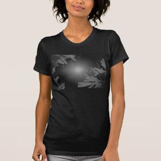 Poinsettia de Noël noire et gris I T Shirt