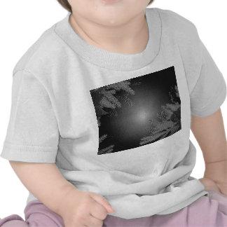 Poinsettia de Noël noire et gris VI T-shirt