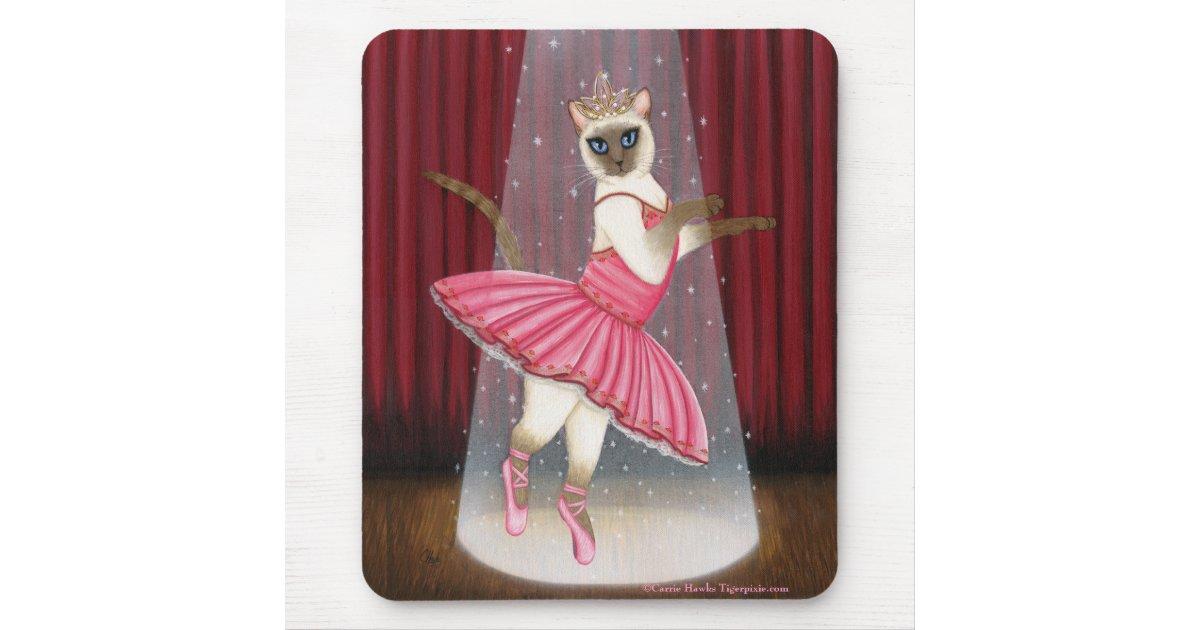 Point de chocolat de chat de ballerine siamois tapis de for Surface minimum bureau code du travail