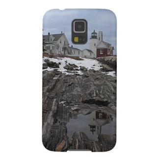 Point de Pemaquid en hiver Coques Pour Galaxy S5