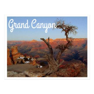 Point de Yaki, carte postale de l'Arizona de canyo